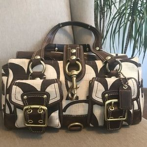 Coach Signature Fabric Purse